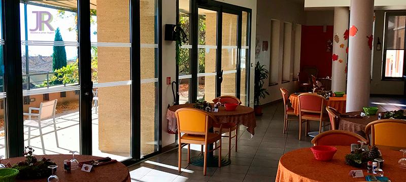 salle à manger de la résidence Jehan Rippert - St Saturnin les Apt Ehpad en Vaucluse