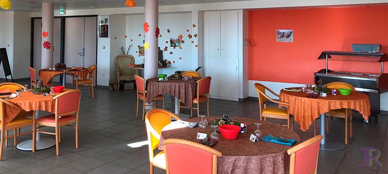autre vue salle à manger de la résidence Jehan Rippert - St Saturnin les Apt Ehpad en Vaucluse